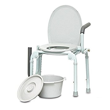 Bedside Commode Drop Arm
