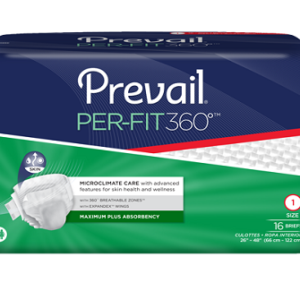 Prevail Adult Disposable Briefs Case of 80