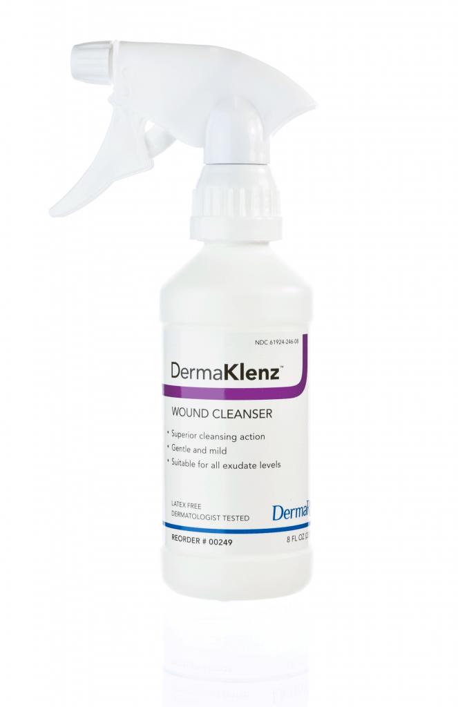 DermaKlenz Wound Cleanser 8 oz 00249