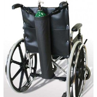 Oxygen Tank Holder for Wheelchair
